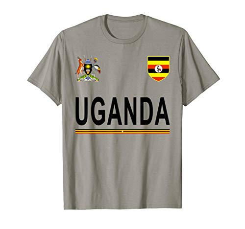 50 Pack Team Tees - Uganda Cheer Jersey 2017 - Football Ugandan T-Shirt