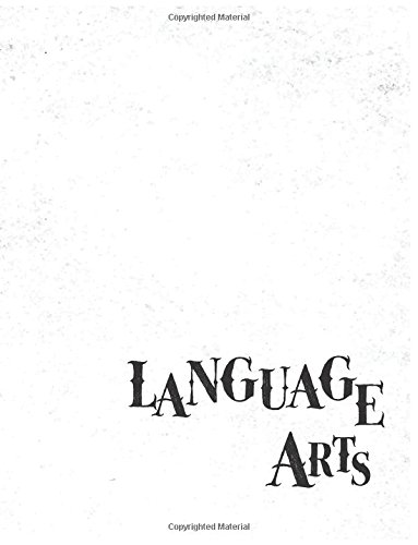 Language Arts Notebook: Single Subject Notebook for School Students, 200 Wide Ruled Pages, 8.5 x 11, Softcover: Subject composition book blank 100 ... (Subject composition notebook) (Volume 6) ebook