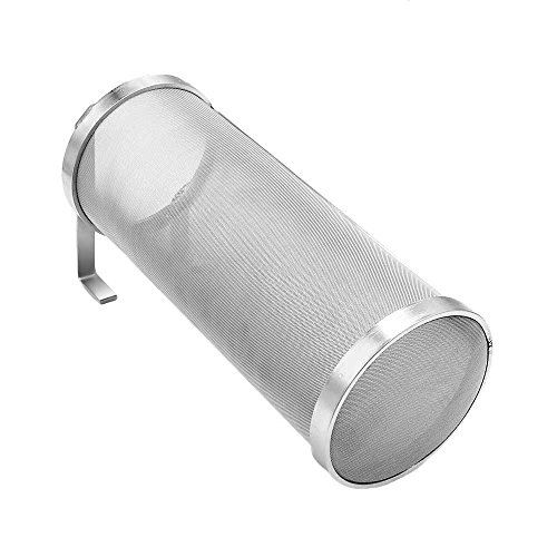 Hop Filter Spider Strainer Stainless steel Beer Mesh Strainer for Home brew Kegging equipment 300 Micron (Filter silver 1) by JoyBrew (Image #7)