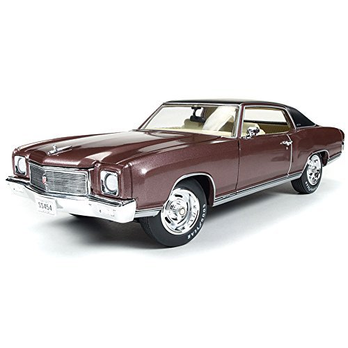1971 Chevrolet Chevy Monte Carlo 1/18 Scale Super Sport 454 Die Cast Model