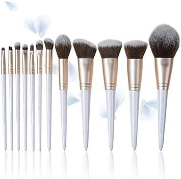 XINYIZI Brochas De Maquillaje Profesional 12 Piezas Pinceles De Maquillaje Set Premium Synthetic Foundation Brush Blending Face Powder Blush Concealers,Regalo para Damas: Amazon.es: Deportes y aire libre