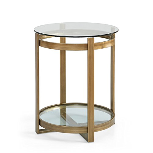 end-table-with-tempered-glass-top-and-shelf-in-stylish-brushed-gold-tone-finish