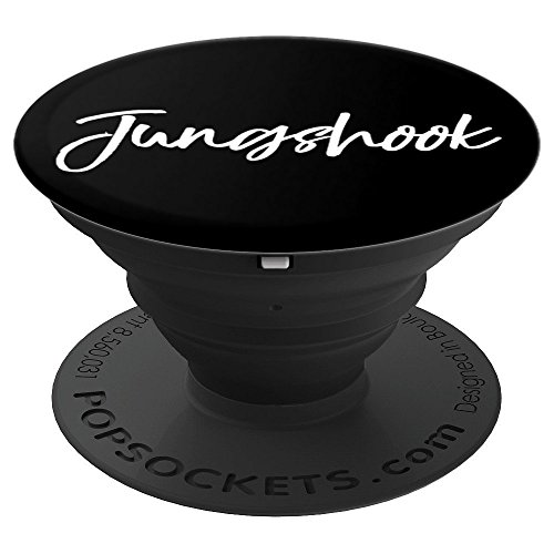 Kpop PopSocket Jungshook Jungkook Birthday Gift Black White - PopSockets Grip and Stand for Phones and Tablets