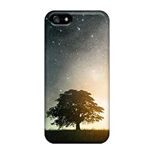 Excellent Iphone 5/5s Case Tpu Cover Back Skin Protector Fantasy Art Skyscapes by ruishername