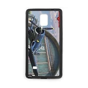 Planes 2 4 funda Samsung Galaxy Note 4 caja funda del teléfono celular del teléfono celular negro cubierta de la caja funda EEECBCAAL12851