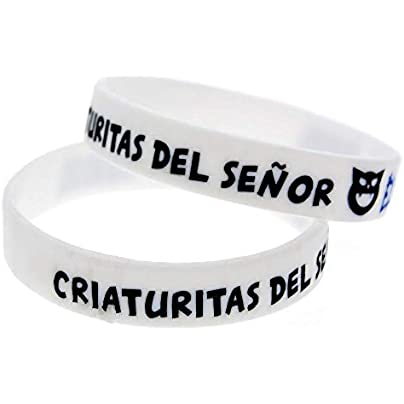 CWLLWC Silicone Bracelet Silicone Bracelets with Sayings El Rubius Rubber Wristbands for Kids Motivation Perfect Gift for Friends Set Pieces Estimated Price £25.99 -