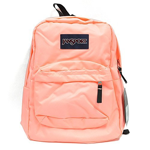JanSport Classic Superbreak Backpack Coral Peaches (Jansport Backpack In Coral)