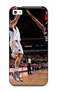 Fashion ILBWPTx692mNKoe Case Cover For Iphone 5c(sports Nba Basketball San Antonio Spurs Athletes Dirk Nowitzki Dallas Mavericks Tim Duncan )