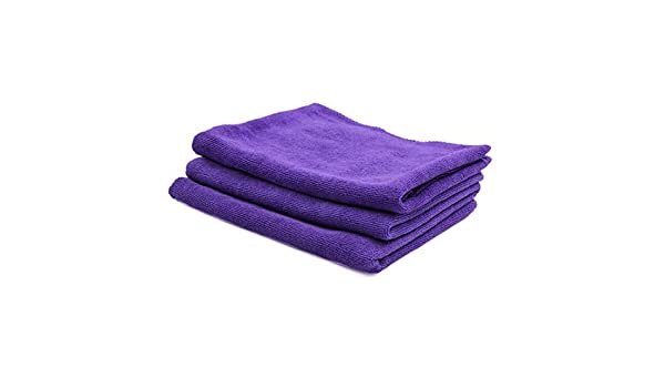 Amazon.com: eDealMax 3pcs 65 x 33cm 300GSM toalla de microfibra paños limpios Para el Lavado de coches púrpura: Automotive