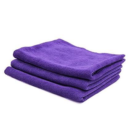 eDealMax 3pcs 65 x 33cm 300GSM toalla de microfibra paños limpios Para el Lavado de coches