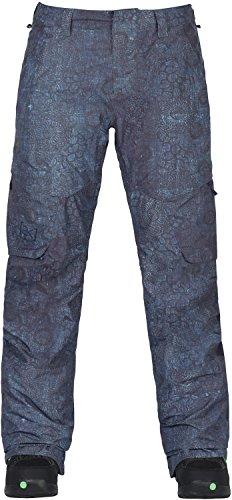 Burton Women's AK Gore-Tex Summit Snow Pant, Indigo Floral, Small -