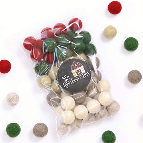 Christmas Hope - DIY Felt Ball Garland Kit (Ball Diy Garland Christmas)