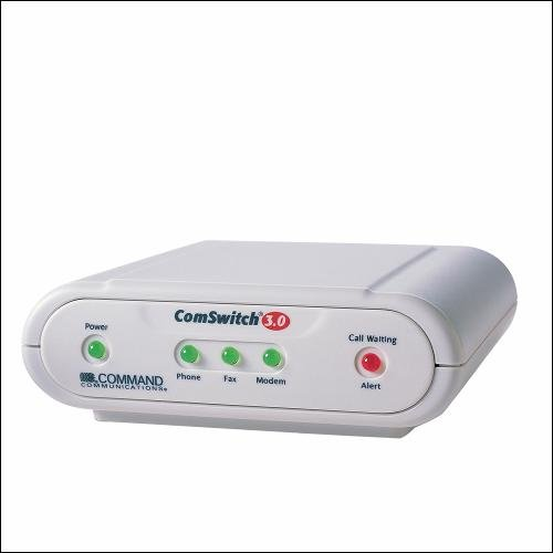 ComSwitch CS3.0 Telephone Line Sharing System/Fax Switch by Command Communications