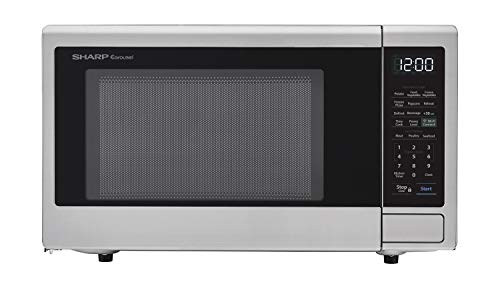Sharp ZSMC1139FS Smart Countertop Microwave Oven 1.1 Cubic Foot, Stainless Steel-Works with Alexa — A Certified for…