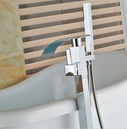 GOWE luxury Free stand Floor Mounted Clawfoot Bath Tub Faucets Bath Tub Mixer Faucet by Gowe (Image #3)