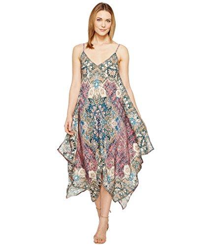 夫婦オーディション所得[トラーニ] Tolani レディース Drew Handkerchief Maxi Dress ドレス [並行輸入品]