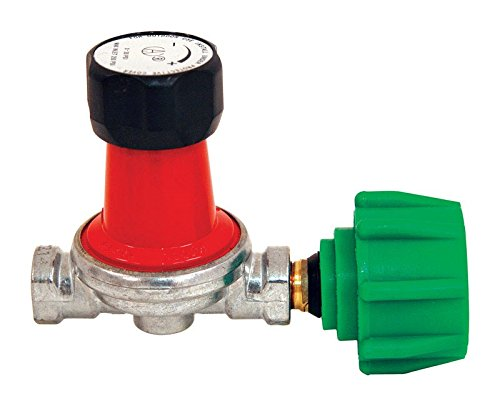 - Bayou Classic 7850 0-30 PSI Adjustable High-Pressure Propane Regulator for 1/4-Inch Inlets and Outlets