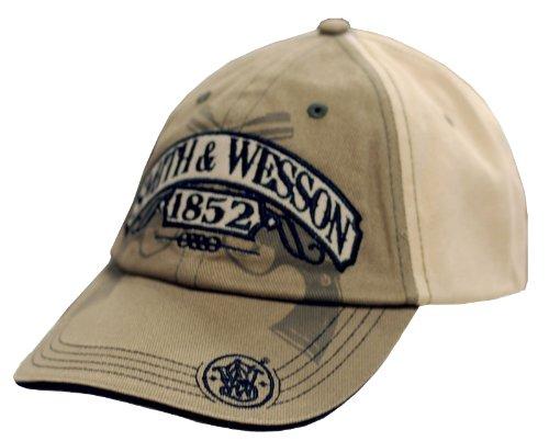 Smith & Wesson Men's Two Tone Khaki & Tan Cap