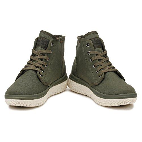 Palladium Mens Forest Night Grijs Crushion Cvs Boots
