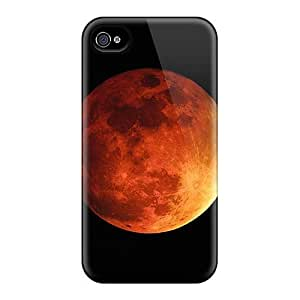 Case Cover For Ipod Touch 4 Retailer Packaging Orange Moon Protective Case