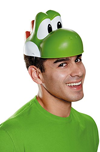 Disguise Men's Yoshi Mask Costume Accessory - Adult,