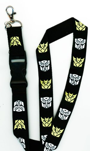 Transformers Autobot Deceptacon Detachable Lanyard product image
