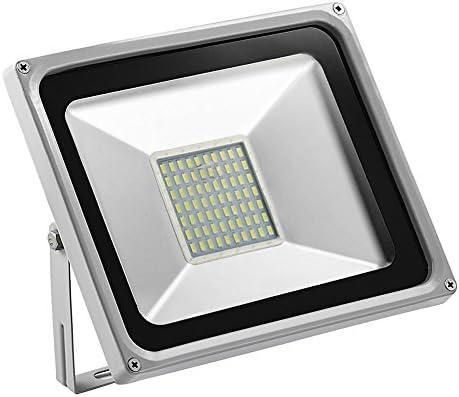 Foco proyector LED 50W para exteriores, 3500LM, Blanco frio 6000 ...
