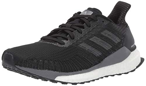 adidas Women's Solar Boost 19 W Running Shoe, Black/Carbon/Grey, 9