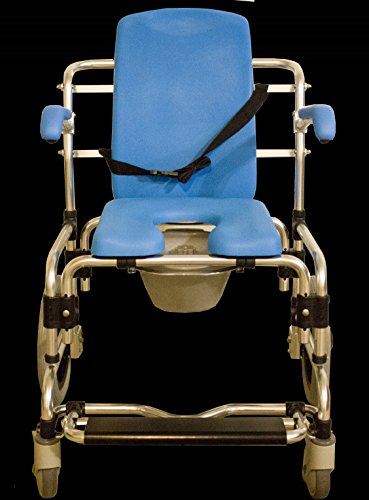 Baltic Professional Transport Shower/Commode Chair-PADDED by Platinum Health (Image #1)
