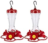 Stokes Select Impatiens Hummingbird Feeder with Four Feeding Ports, 8 fl oz Nectar