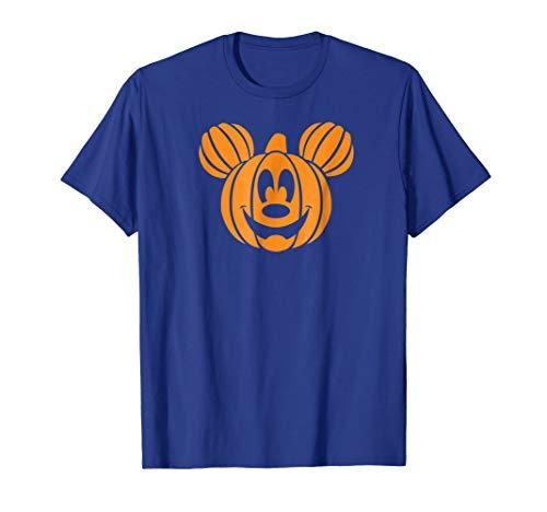 (Disney Halloween Pumpkin head T-shirt)