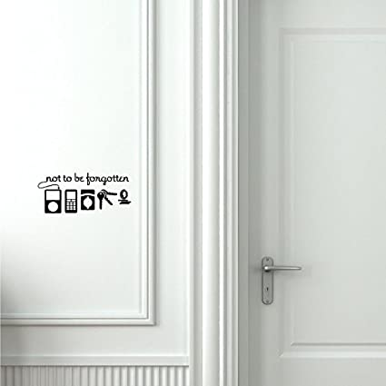 Beverly465 Not To Be Forgotten Door Decal Modern Farmhouse Style For Front  Door Decals Door Vinyl