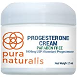 Progesterone Cream (Paraben Free) for natural assistance with symptoms of menopause. Apply daily to skin for safe, effective results.