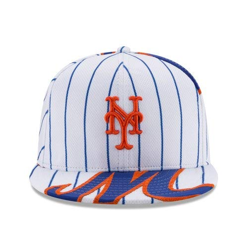 New Era NOAH Syndergaard New York Mets White Player Authentic Jersey V1 9FIFTY Snapback Adjustable HAT by New Era (Image #1)