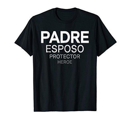 Dia Del Padre Esposo Heroe Shirt Spanish Hispano Latino (La Esposa De Mi Hermano Es Mi)