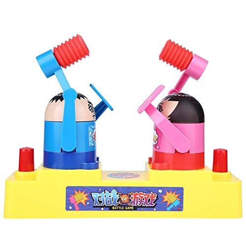 FTVOGUEキッズ面白いハンドプレス二重プラスチックロボットハンマーリング対話型ゲームおもちゃ(02)