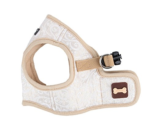 Puppia Authentic Puppia Gala Harness II B, Beige, X-Large by Puppia