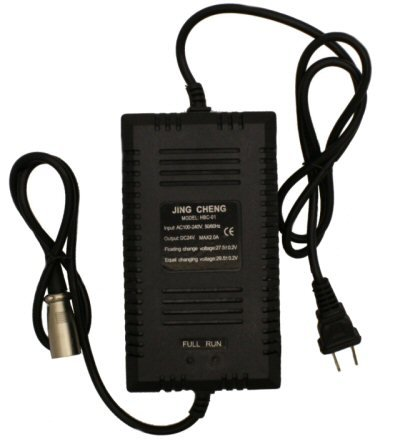 24V 2 Amp Standard Battery Charger 3-Pin XLR Style
