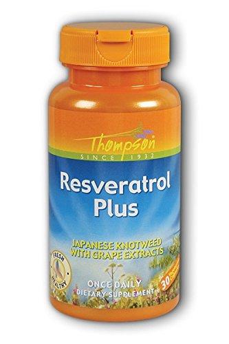 UPC 031315686429, Thompson - Resveratrol Plus 75mg 30 Vcp