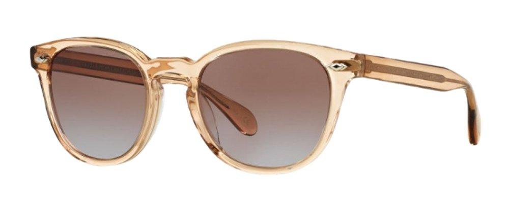 Oliver Peoples Sheldrake Sunglasses (47 mm, Blush Frame Rose Lens) by Oliver Peoples