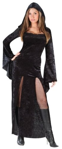 Plus Size Masquerade Costumes (Sultry Sorceress Costume - Plus Size 1X/2X - Dress Size 16-22)