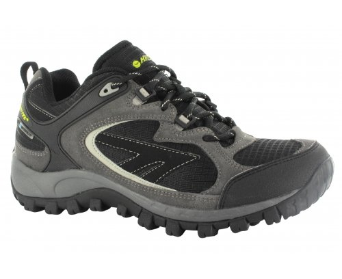 Hi-Tec South Trail Wp, Men's Boots Schwarz (Black/Grey/Limoncello 021)