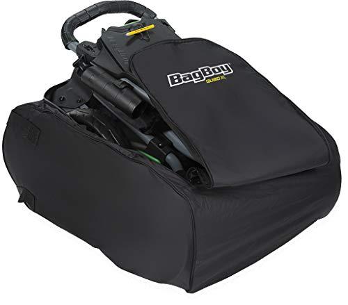 Bag Boy Carry Bag Quad Black - Boy Bag Cart Pull