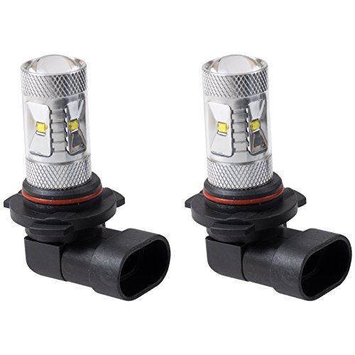 Putco 259006W Optic 360 9006 High Power LED Fog Lamp Bulb,Pack of 2