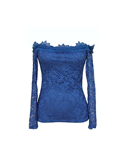 Cfeminin - Vestido - para mujer Azul