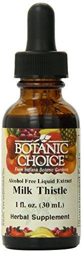 Botanic Choice Liquid Extract, Milk Thistle, 1 Fluid Ounce by Botanic Choice