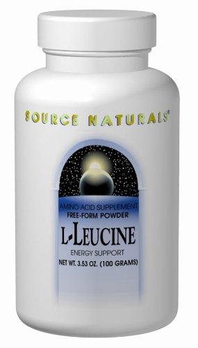 Source Naturals L-leucine 500mg, 240 capsules