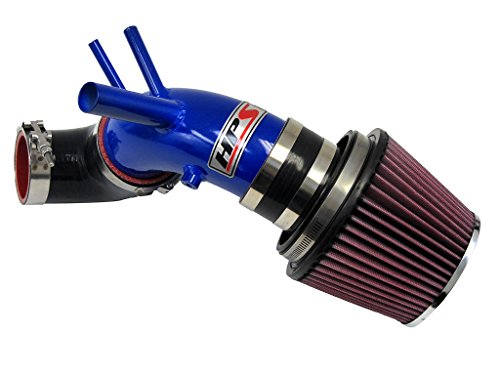 HPS 27-201BL Blue Short Ram Air Intake Kit (Non-CARB Compliant)
