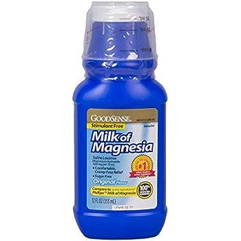 Good Sense Milk of Magnesia Saline Laxative, Original,12 oz