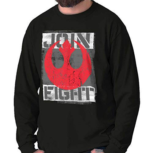 Join The Fight Space Movie Rebels Nerdy Long Sleeve T Shirt